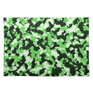 Green Camouflage Placemat