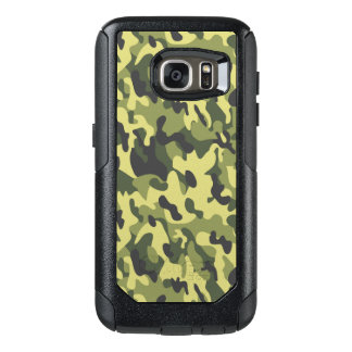 Green Camouflage style Samsung Cases