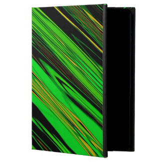 Green Candy Stripe iPad Air Covers