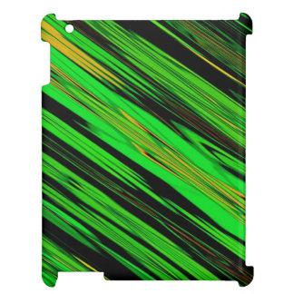 Green Candy Stripe iPad Covers