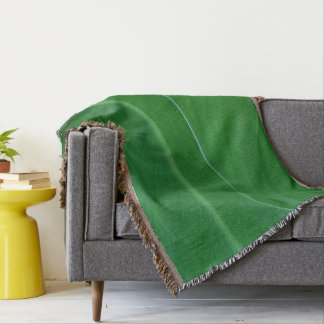 Green canna lily leaves photo throw blanket