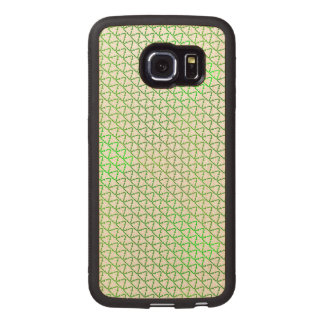 Green Caring and Sharing Recycle for the World Wood Phone Case