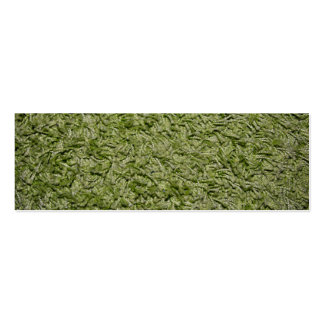 Green Carpet bookmark business card Pack Of Skinny Business Cards