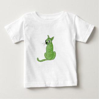 Green cat baby T-Shirt