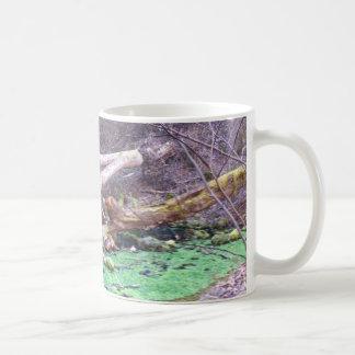 Green Cave Classic White Coffee Mug