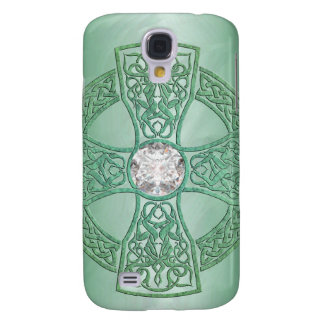 Green Celtic Cross 3g