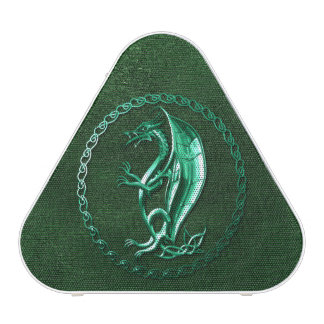 Green Celtic Dragon Blueooth Speaker
