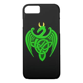 Green Celtic Dragon iPhone 7/8 Case