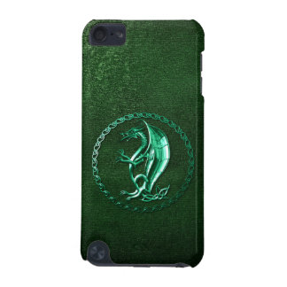 Green Celtic Dragon iPod Touch (5th Generation) Cases