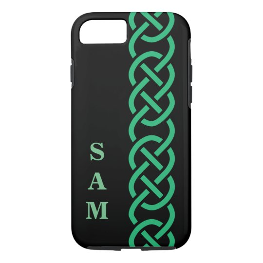 Green Celtic Knots iPhone 8/7 Case