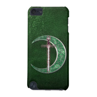 Green Celtic Moon iPod Touch (5th Generation) Case