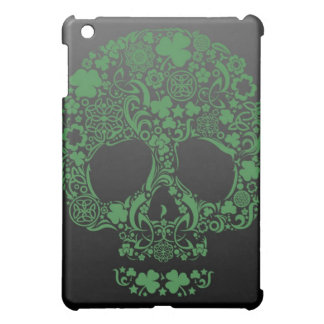 Green Celtic Skull variety Pattern iPad Mini Case