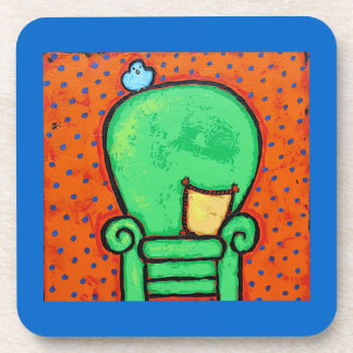 green chair coaster