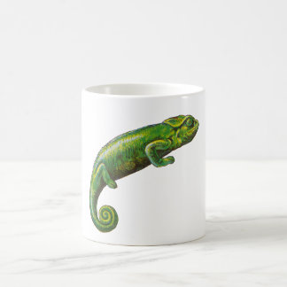 Green Chameleon Coffee Mug