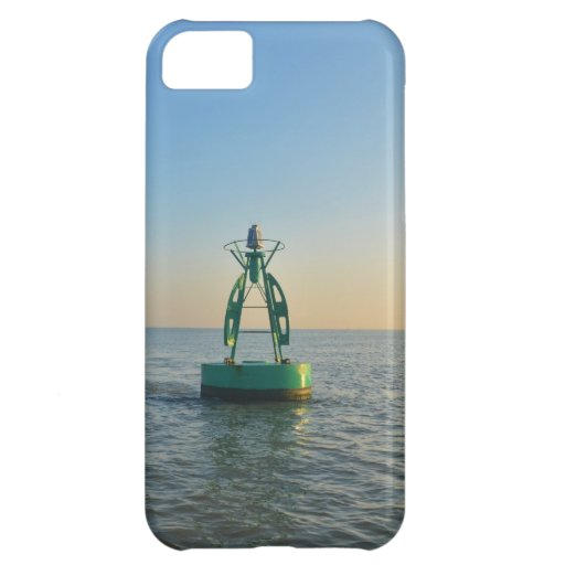 Green Channel Buoy iPhone 5C Cover