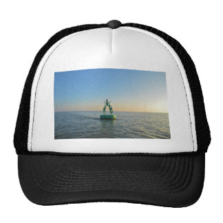 Green Channel Buoy Trucker Hat