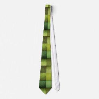 Green Checkered Texture Tie