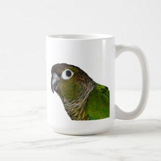 Green Cheeked Conure Coffee Mug
