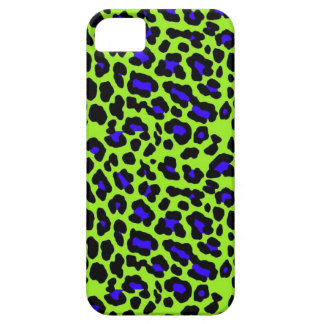 Green Cheetah Print iPhone 5 Cases