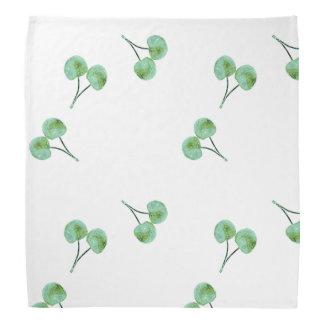 Green Cherry Pattern Bandana
