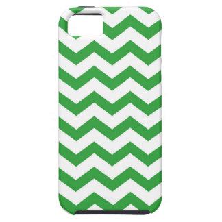 green chevron stripes iPhone 5 case