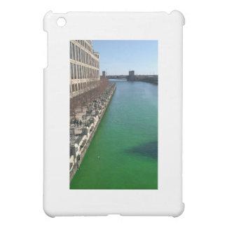 Green Chicago River iPad Mini Cases