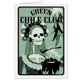 green chile club card