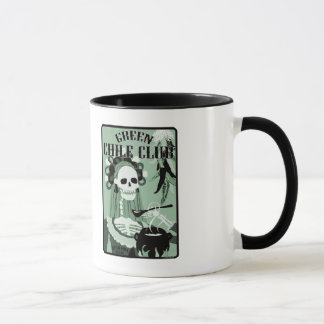 green chile club mug