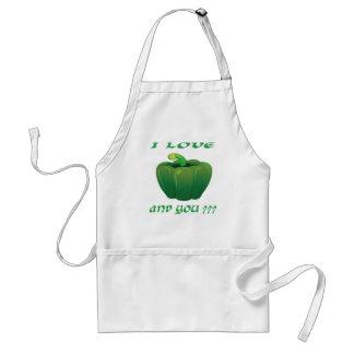 Green chilli apron
