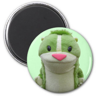Green Chipmunk Magnet