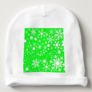Green Christmas Blast Baby Beanie