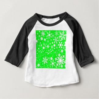 Green Christmas Blast Baby T-Shirt