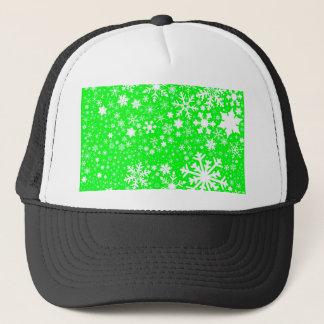 Green Christmas Blast Trucker Hat
