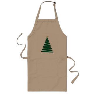 Green Christmas Tree Aprons
