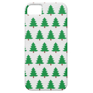 Green Christmas tree pattern iPhone 5 Cover