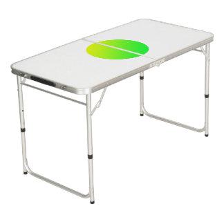 Green Circle Ping Pong Table