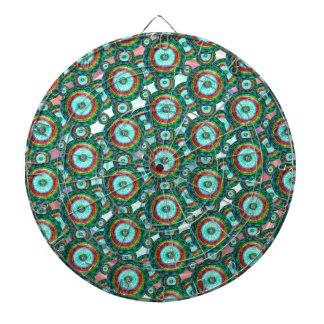 Green circles #3 dartboard