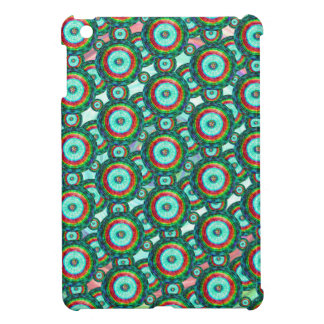 Green circles #3 iPad mini cover