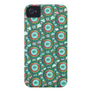 Green circles #3 iPhone 4 covers