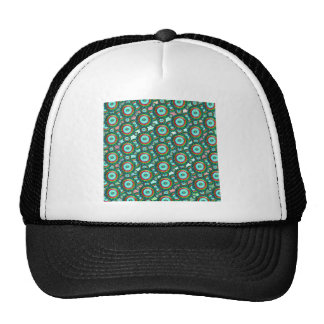 Green circles #3 trucker hat
