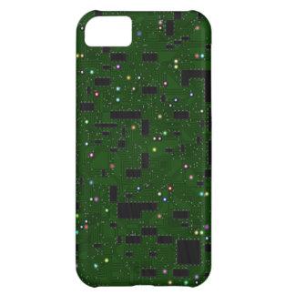 Green Circuit Board iPhone 5C Covers