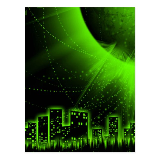 Green City Products Postcard