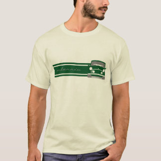 Green Classic Mini Cooper T Shirt