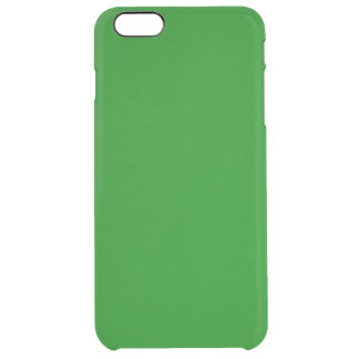 Green Clear iPhone 6 Plus Case