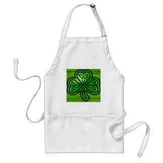 Green clover standard apron
