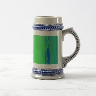 Green Clump Coffee Mug