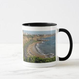 Green Coast beach in Lima-Peru Mug