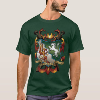 Green Coat-of-Arms Tee