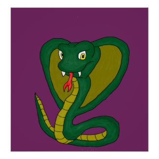 Green Cobra Poster