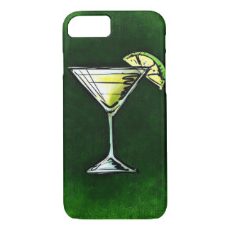 Green cocktail absinthe iPhone 7 case